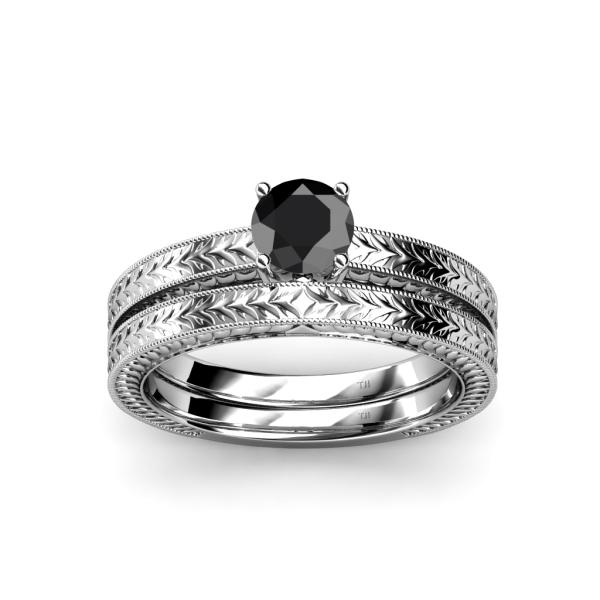 Bridal Sets: Bridal Sets Black Diamond Wedding