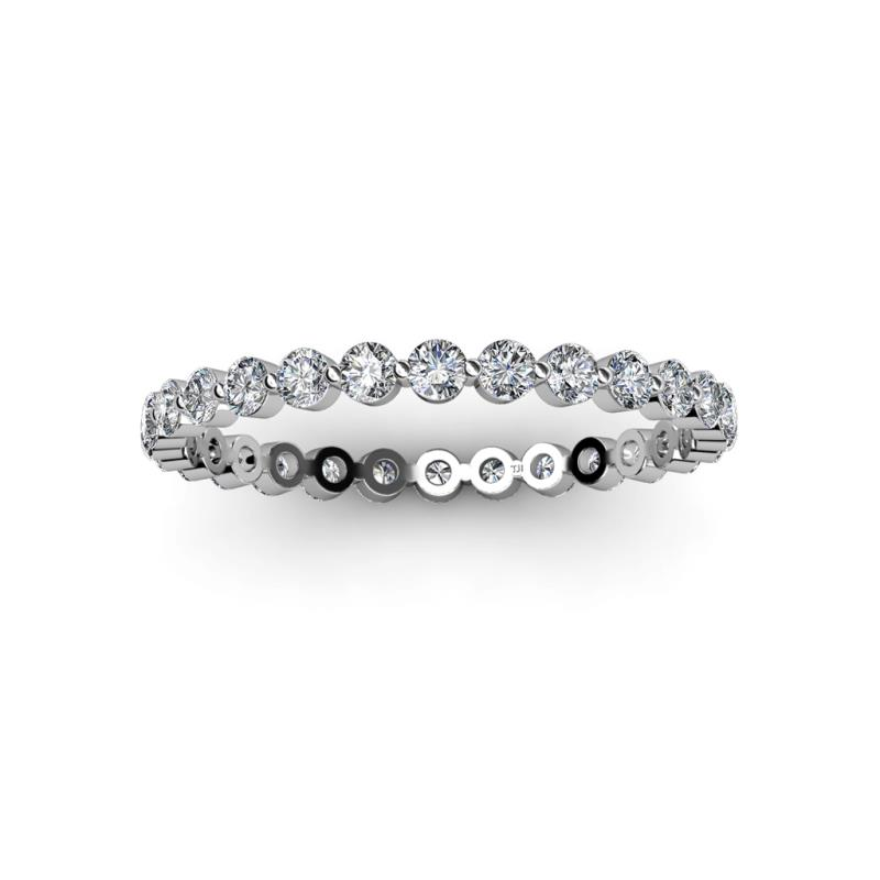 2 0 Mm Bands: Valerie 2.00 Mm Diamond Eternity Band