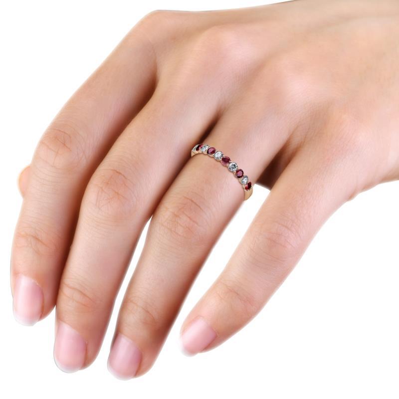 ruby and diamond wedding band Wedding Decor Ideas