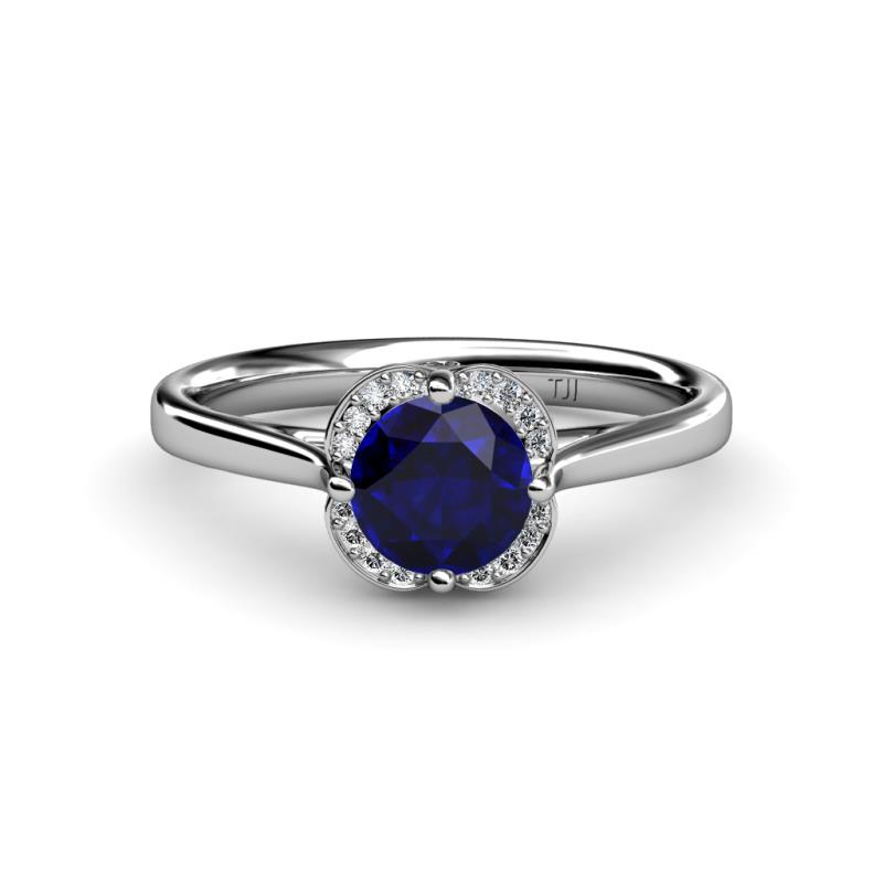 cubic rings unique ct love heart sapphire silver cz sterling promise of cut eternal