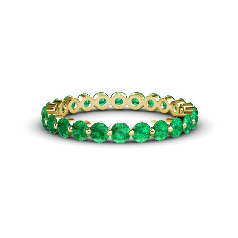 band emerald products half in by each collections eternity at mikolay carat platinum bands cut womens diamond desires