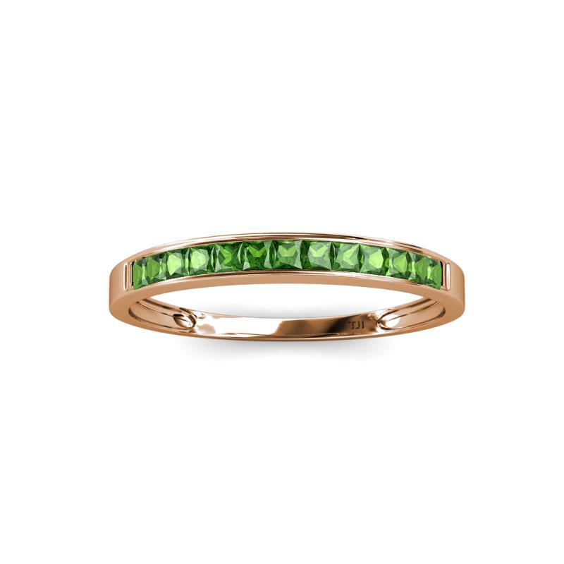 0 1 2 - Garnet Wedding Ring