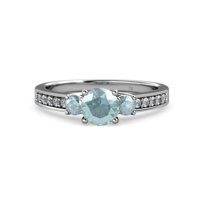 Aquamarine Womens Thre...1 2 Ctw Meaning