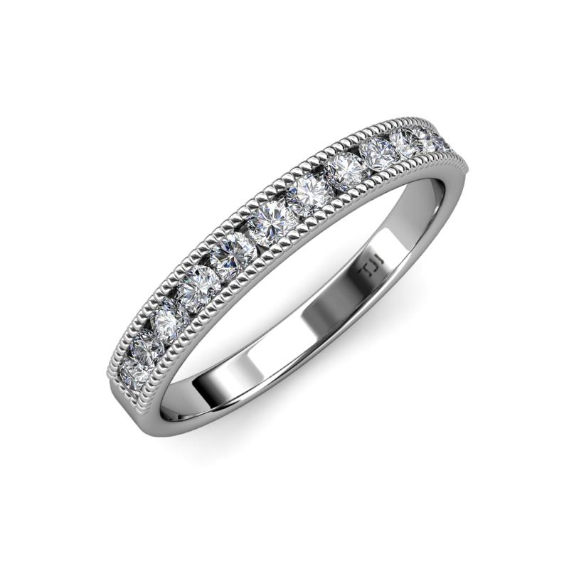 m milgrain bands shane detailing with band wedding p vintage diamond co