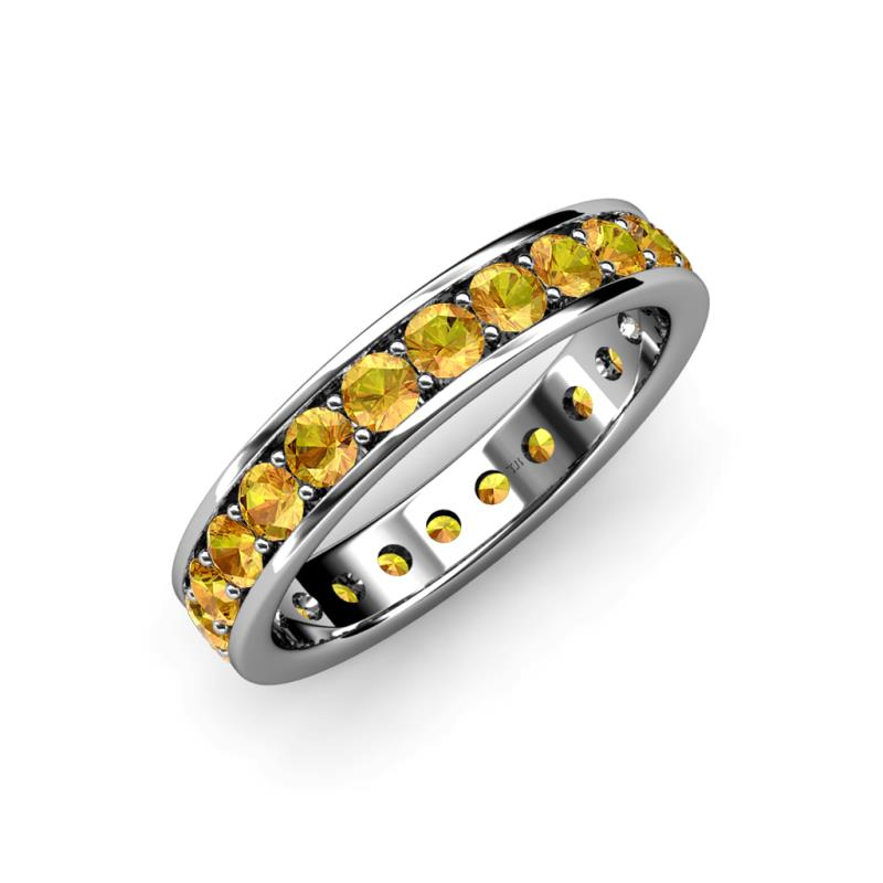 yellow ring eternity available cttw shared band diamond wedding stand prong in bands gold set up diamonds