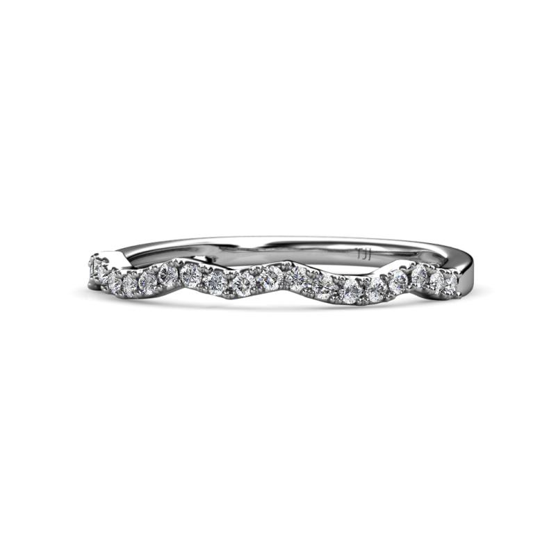 band diamond eternity ctw ct t w rings white gold