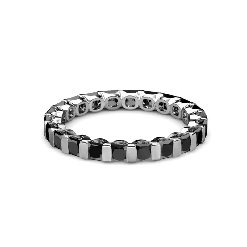 band ct black eternity diamond bands wedding sterling bhp ring ebay silver genuine