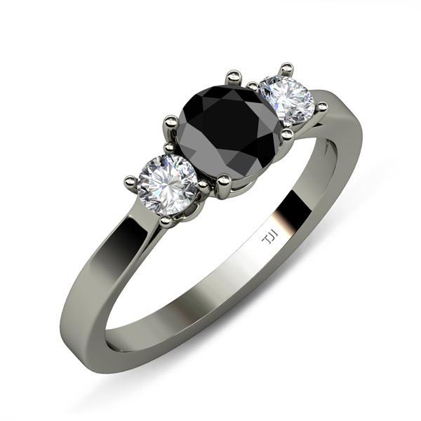 Center Natural Treated Black Diamond I1 I2 Clarity Black Color