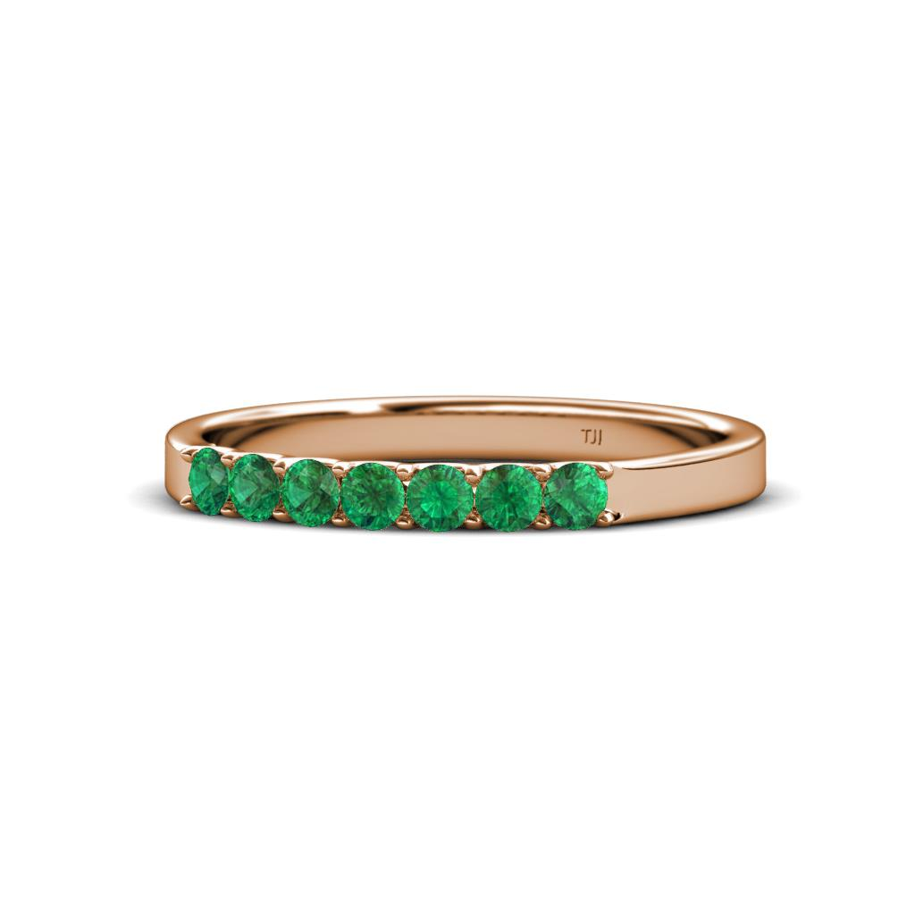 fiala - Emerald Wedding Ring