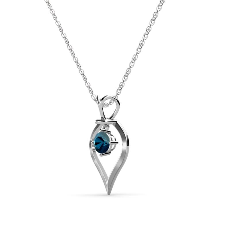proddetail rs solitaire diamond pendant real piece at blue