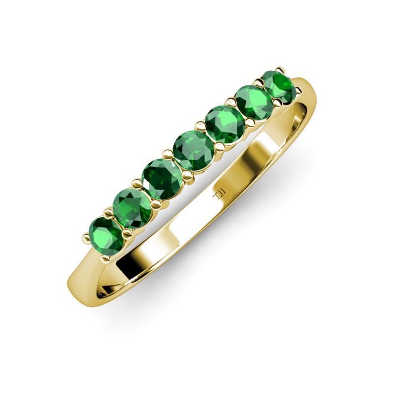 Reina 300 Mm Emerald Wedding Band