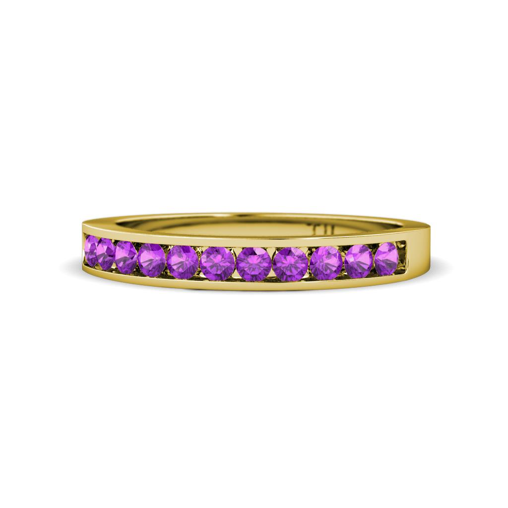 Ryann 200 Mm Amethyst Wedding Band