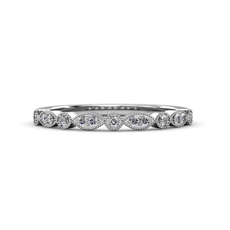 902b9967dc0 Brand new Diamond Marquise and Dot Bridal Set Ring   Wedding Band 1.25 ct  tw BX43