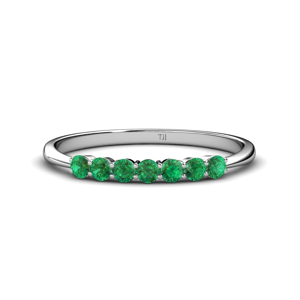 It is just a picture of 45.45 mm Emerald Wedding Band