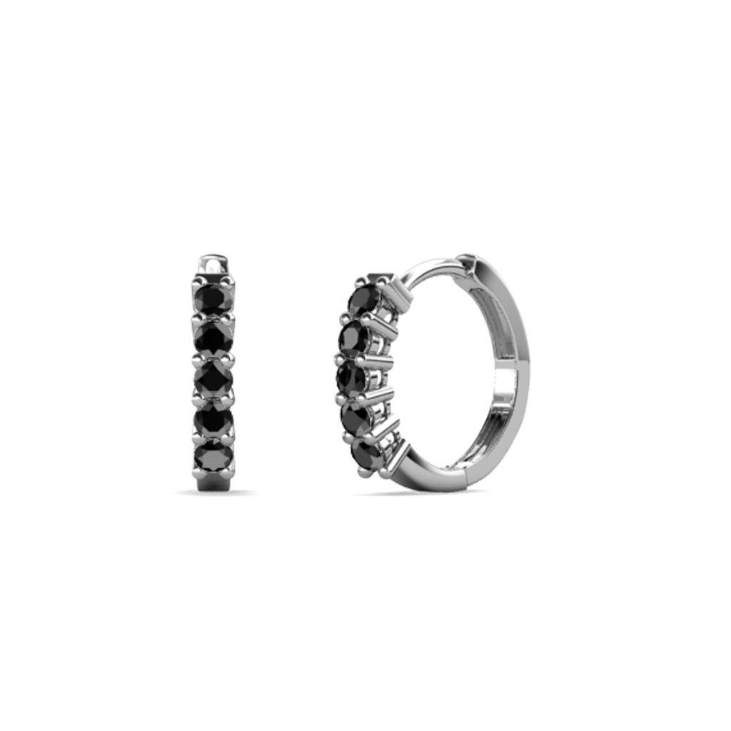 Black Diamond Womens Hoop Earrings 0 32 Ctw 14k White Gold More Details Be The First To Write A Review 951428 2082095 2082141 2147483647