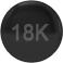 18K Black Gold