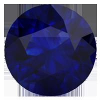 Created Blue Sapphire (December)