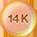 14K Rose Gold