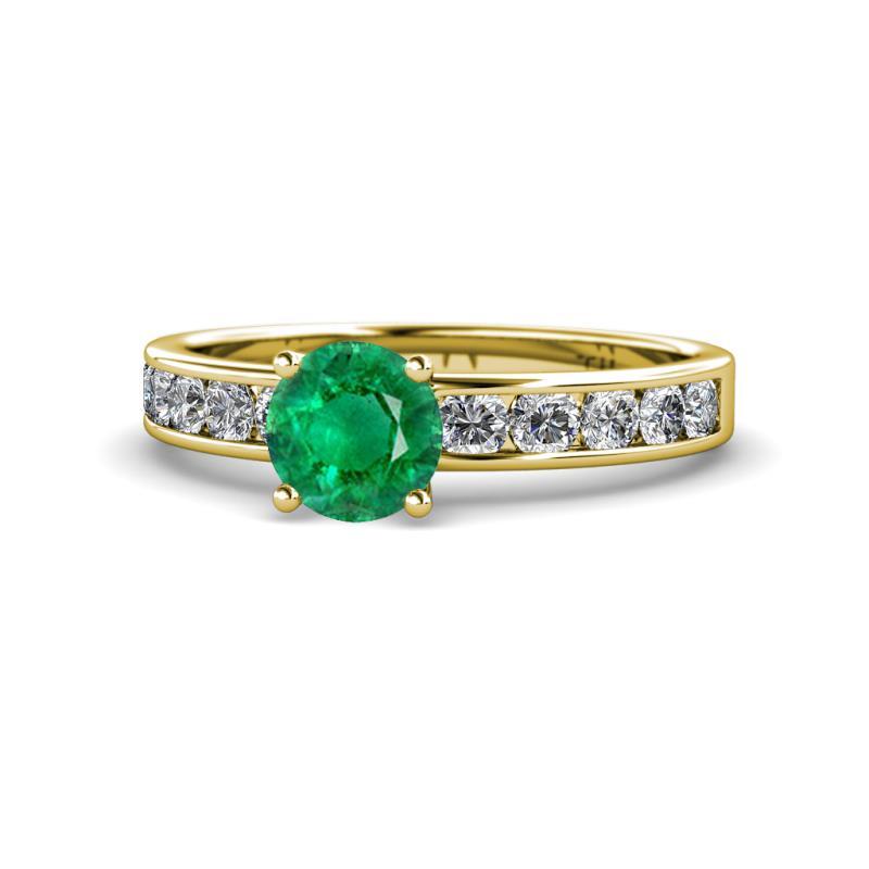 1.72Ct Aquamarine Heart Cut Certified Diamond Engagement Ring in 14K White Gold