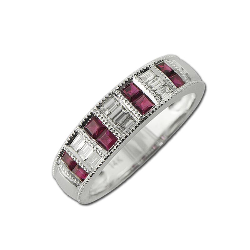 in micropave women anniversary round gold red for wg nl band with wedding ruby bands diamond white jewelry thin fascinating
